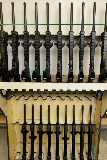 CMR30 carbine partially complete barreled receivers awaiting final assembly